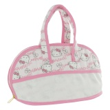 Trousse de toilette 2 anses motif Hello Kitty