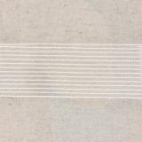 Élastique fronceur 40mm blanc