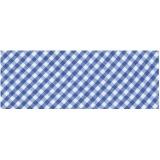 Biais vichy 40/20 bleu