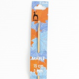 Crochet bois d'érable 15cm n°3 - 346