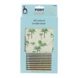 """Pochette pony """"palm"""" crochet - 346"""