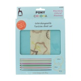 "Set Pony de crochet circulaire ""chroma"" - 346"