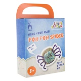 Kit Pom Pom Spider vert-bleu - 346