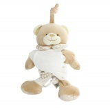 Doudou ours musical beige 20 x 12 cm