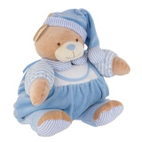 Porte pyjama nounours bleu