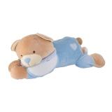 Porte pyjama ours bleu 26 x 50 cm