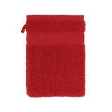 Gant éponge rouge