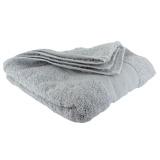 Serviette éponge 50/100 gris