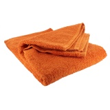 Drap de bain éponge 70/140 orange