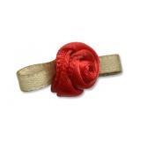 Fleur moyen modèle x 100 rouge/vert