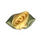 Fleur grand modèle x 100 jaune/vert