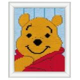 Canevas d'enfants (point lancé) winnie the pooh - 4