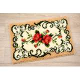 Tapis kit au point noué 75x45cm - 4