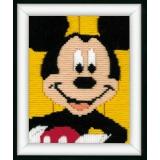 Canevas d'enfants (point lancé) mickey mouse - 4
