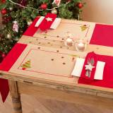 Kit set de table arbre de noël lot de 2 - 4
