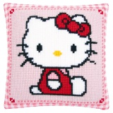 Coussin point de croix Hello Kitty - 4