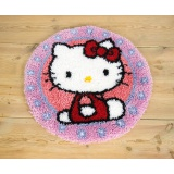 Tapis modelé au point noué Hello Kitty - 4