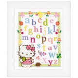 Broderie au point compté 30/39cm abc Hello Kitty - 4