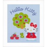 Kit au point compté Hello Kitty avec pommier aida - 4