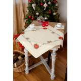 Nappe poinsettias - 4