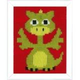 Canevas d'enfants (point lancé) dragon - 4
