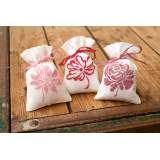 Sachet flerus roses aida set of 3 - 4