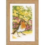 Miniatures oiseaux aida lot de 3 - 4