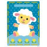 Cartes à broder agneau et vache lot de 2 - 4