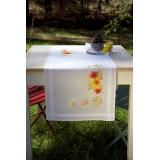 Chemin de table tournesols et coquelicots - 4