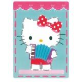 cartes à broder kitty joue musique lot de 2 - 4