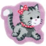 Tapis kit au point noué chat - 4