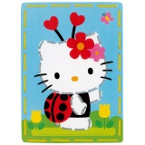 Cartes à broder hello kitty coccinelle lot de 2 - 4