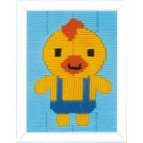 Canevas d'enfants (point lancé) canard - 4
