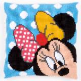 Coussin au point de croix disney minnie - 4
