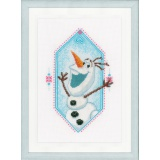 Kit au point compté disney frozen olaf aida - 4