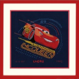 Kit au point compté Disney lightning mcqueen aida - 4