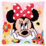 Coussin au point de croix Disney minnie rêvasse - 4