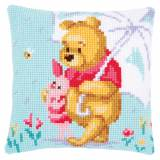Kit coussin au point de croix Disney winnie triste - 4