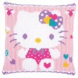 Kit coussin au point de croix hello kitty pastel - 4