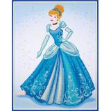kit Diamond painting Disney Cendrillon 52x69 cm - 4