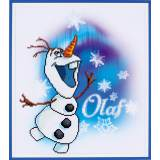 kit Diamond painting Disney Olaf 37x42 cm - 4