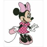 Diamond painting kit disney minnie avec bijoux - 4