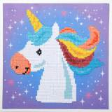 kit Diamond painting licorne 37x30 cm - 4