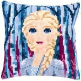 Kit coussin point de croix Disney Reine des Neiges - 4