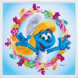 kit Diamond painting kit schtroumpfs smurfette - 4