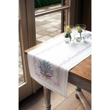 Chemin de table blanc kit complet 40/100cm - 4