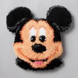 Coussin point noué 37x36cm mickey - 4