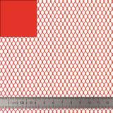 Tissu filet Mesh fabric rouge - 40