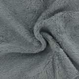 Tissu éponge de bambou gris - 401