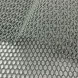 Tissu filet coton bio gris - 401